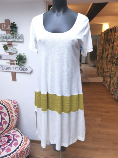 Tunique ou robe anis