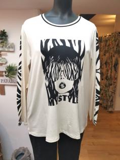 Tee-shirt style ecru