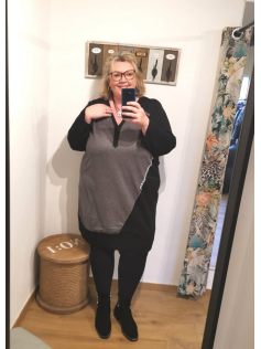 Robe tunique grise Nice